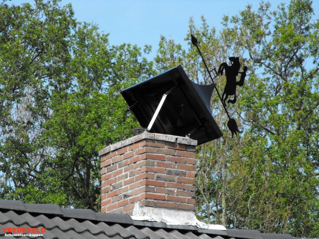 kantelbare landelijke schoorsteenkappen